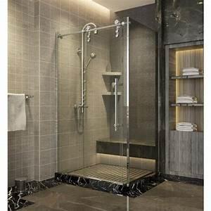 ecrans et parois de douche ally achat vente de ecrans With porte de douche coulissante avec meuble salle de bain 50 cm de large