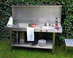 küche selbst zusammenstellen günstig die outdoorküche genussvoll draußen kochen schöner wohnen