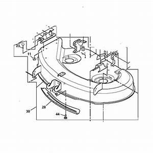 John Deere 38-inch Mower Deck Shell