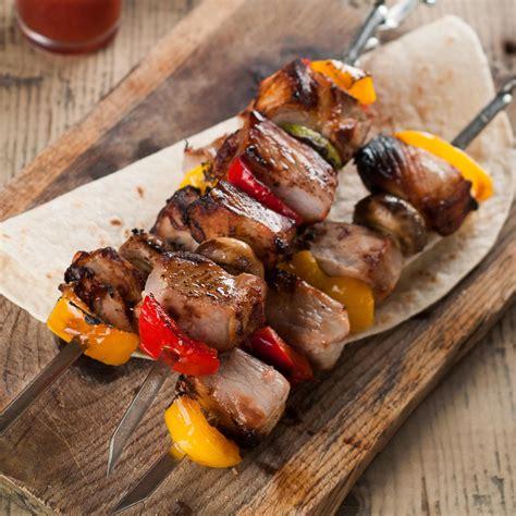 sos cuisine com brochettes de veau et légumes