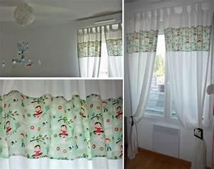 la chambre du chaton les rideaux les chiffonneries du chat With rideaux pour petite fenetre chambre