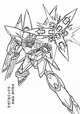 Gundam Coloring Pages sketch template