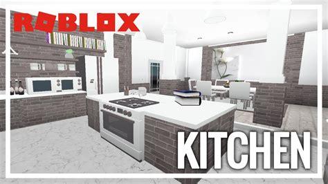 roblox   bloxburg kitchen youtube