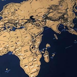 Carte Du Monde à Gratter Maison Du Monde : carte du monde gratter objet satisfaisant ~ Teatrodelosmanantiales.com Idées de Décoration