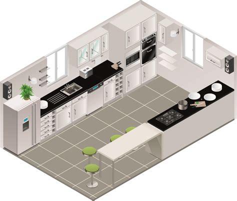 plan cuisine en parall e cuisine en parallle comment amnager une cuisine en