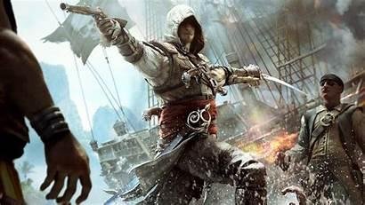 Creed Flag Assassin Iv Wallpapers Gaming 1080