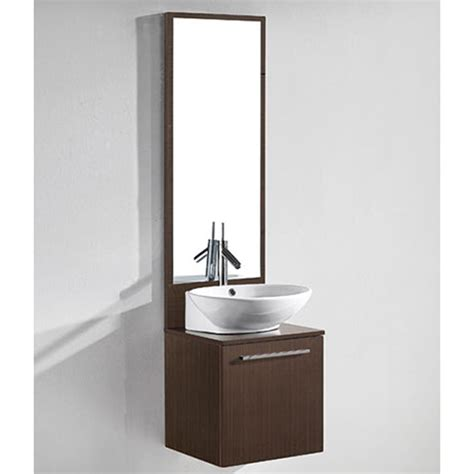 madeli alassio  bathroom vanity walnut
