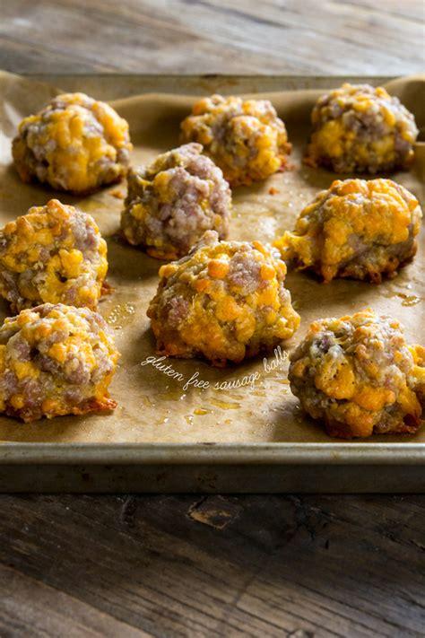 gluten  sausage balls great gluten  recipes