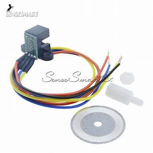 Photoelectric Speed Sensor Encoder Coded Disc Wheel For