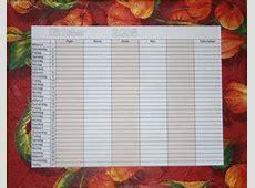 Familienkalender ausdrucken Familienkalender ausmalen
