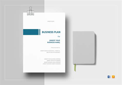 microsoft business plan template   word excel