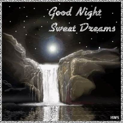 Night Goodnight Sweet Dreams Animated Desicomments Gifs