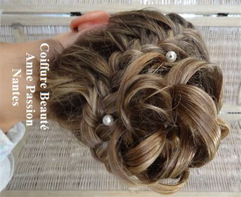 coiffure chignon invite mariage