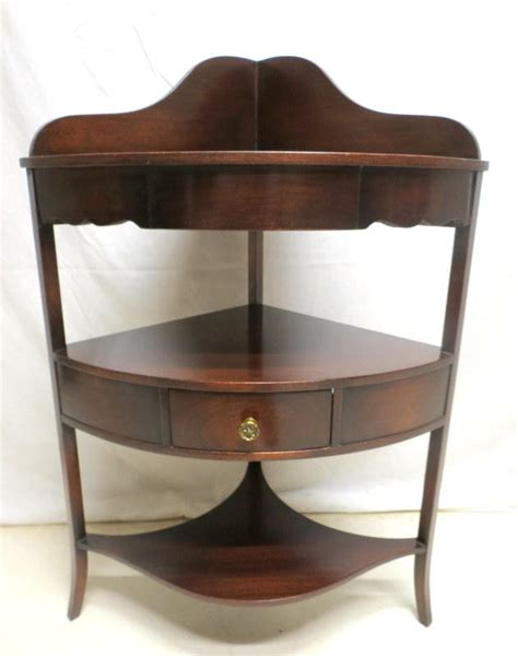 Etagere Cabinet by Antique Mahogany Corner Etagere Cabinet Curio Display 3