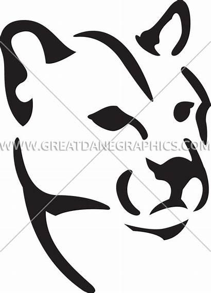 Mountain Clipart Lion Head Stencil Transparent Artwork