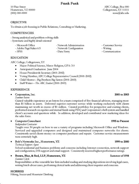 How To Write A Technical Resume Exle by Writing A Resume Resume Cv