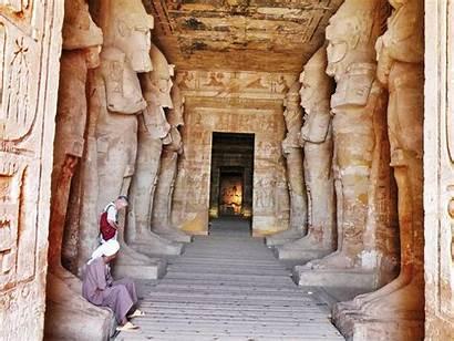 Abu Simbel Temple Inside Egypt Templo Interior