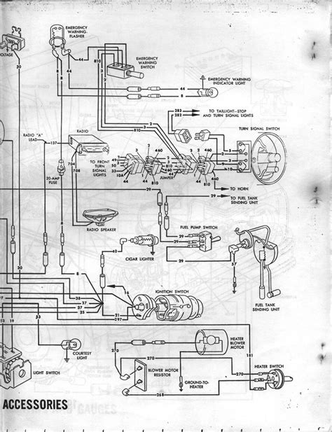 57 Ford Truck Wiring Diagram by 65 Ford F100 Wiring Diagrams Ford Truck Enthusiasts Forums