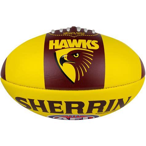 hawthorn sherrin song pvc football size 2 hawksnest