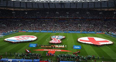 Croatia Play France Fifa World Cup Final After