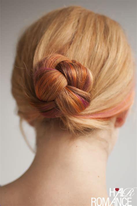 hair in a bun styles braided bun hairstyle tutorial hair 4329
