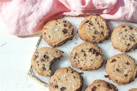 shortbread chocolate chip cookies recipe popsugar food