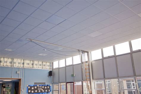 quarry hill academy asbestos removal  lighting