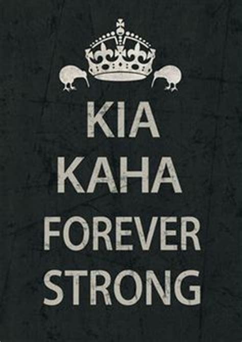 Forever Strong Kia Kaha by Forever Strong On Faris Maori And Rugby