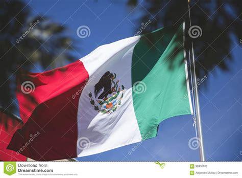 Mexican Flag Patriotic Symbol; Bandera De México Simbolo ...