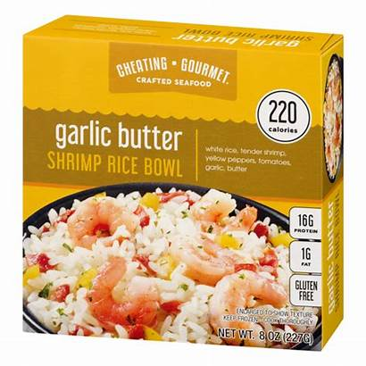 Rice Gourmet Shrimp Cheating Bowls Garlic Butter