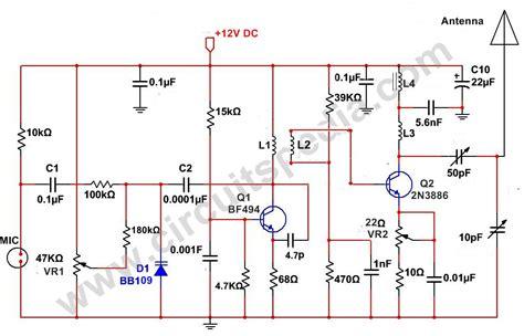 Long Range Transmitter Circuit Diagram