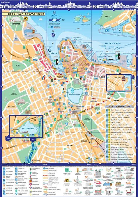 stavanger city  bus map maplets
