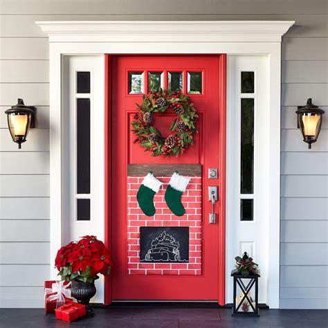 Door Decoration - fireplace door decor