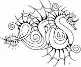 Dragon Sea Swirly Water Drawing Coloring Dragons Clipartmag Getdrawings sketch template