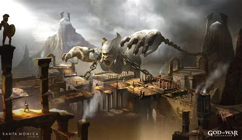 Polyphemus Promo Pictures And Characters Art God Of War