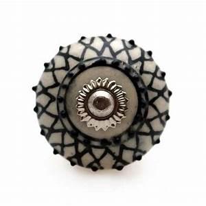 Bouton De Meuble : bouton de meuble mandala motif floral en porcelaine 3 80 boutons bouton de ~ Teatrodelosmanantiales.com Idées de Décoration
