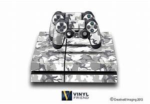 E-SKINS Play Station 4 (ps4) gaming console skin military
