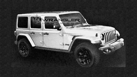 jeep unlimited 2018 2018 jeep wrangler unlimited rubicon leaked images