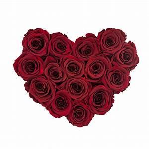 Ewige Rosen Box : rote ewige rosen in schwarzer herzbox herz boxen rosen produkte online blumenladen ~ Eleganceandgraceweddings.com Haus und Dekorationen