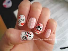 Peachbubbly kpop nails exo inspired valentine s day nail art
