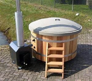 pool badefass hot tub in berlin sonstiges fur den With französischer balkon mit wassertank garten gebraucht