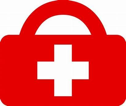 Aid Medical Kit Clipart College Box Scheme