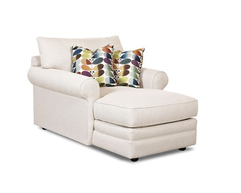 Chaise Furniture by Casual Chaise Lounge By Klaussner Wolf Furniture