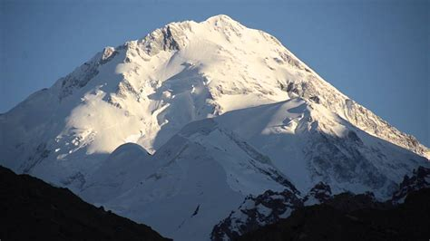 K2 And Gasherbrum North Face In China Gasherbrum North