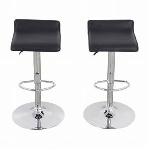 87 off black bar stools chairs With 2nd hand bar stools