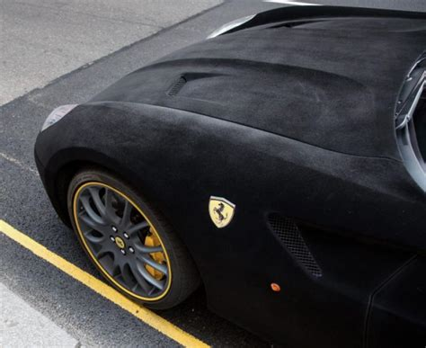 velvet car ferrari owner covers car with velvet ny daily news