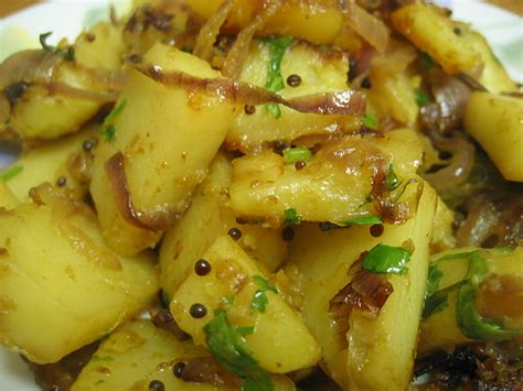 different potato recipes potato bhaji for those about to cook