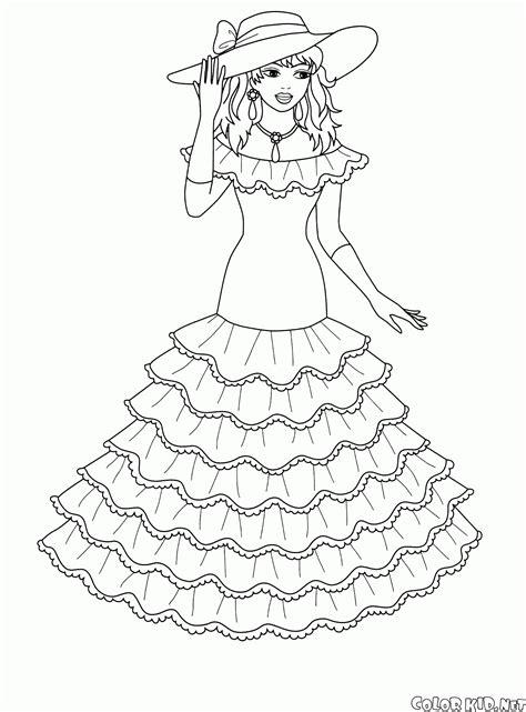 disegni da colorare  piccole principesse