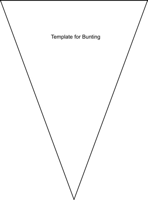 banner template png bunting template no sew bunting diy tutorial and free template via lilblueboo