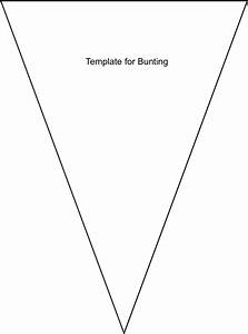 penant template - bunting template no sew bunting diy tutorial and free